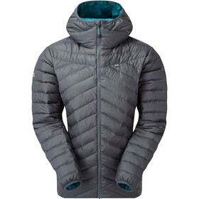 Mountain Equipment Earthrise Hooded Jacket Dame Moorland Slate